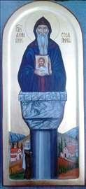 Ikona Sv Alimpija Stolpnika