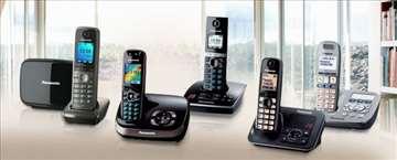 Panasonic telefoni, bežični, novo, garancija 2 god