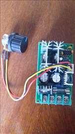 Regulator brzine obrtaja motora 10-60 volti 20ampe