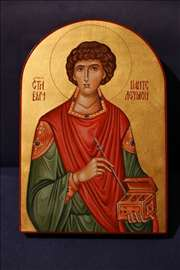 Ikona Sv Velikomučenika Pantelejmona