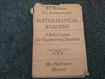 Mathematical Analysis: A Brief Course for Engineer