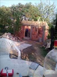 Rušenje starih objekata, lupanje betona, iskopi