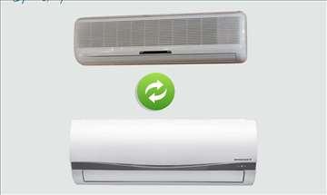 Zamena klima uređaja