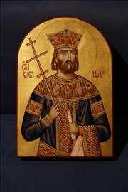 Ikona Sv Velikomučenika Kneza Lazara
