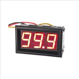 LED digitalni Voltmetar 0-100V DC