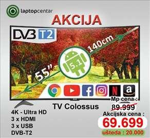 "Colossus 55"" 4K ultra HD SMART"