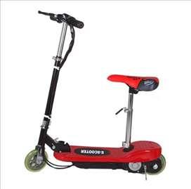 Električni trotinet E-Scooter crveni