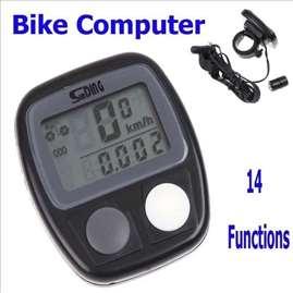 Kompjuter za bicikliste- distanca,brzin