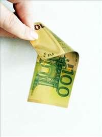 Zlatne novčanice od 100 evra