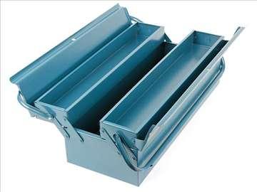 Metalni kutija-kofer za alat