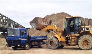 Prevoz kiper kamionom