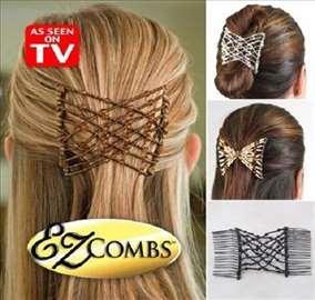 EZ Combs šnala za moderne frizure