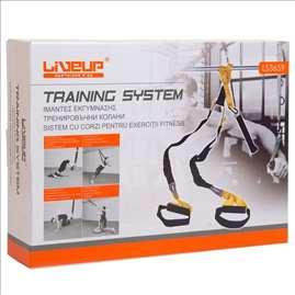 LiveUp 2 trake za vežbanje nosivost 200 kg