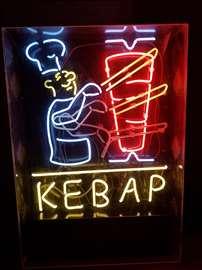 Svetleca reklama KEBAP