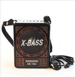 X Bass tranzistor - retro