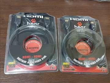 NOV HDMI na HDMI kabal izuzetno kvalitetan 1.5M