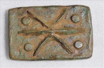 Rim aes signatum IV/III vek BC  4
