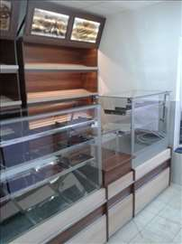 Tople vitrine za pekare, picerije novo