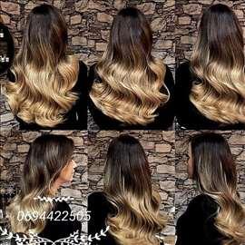 Klipse prirodna kosa