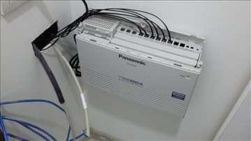 Servisiranje, popravka i održavanje telef centrala