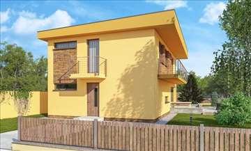 Montažna kuća Modern 14 - Montažne kuće KućaMont