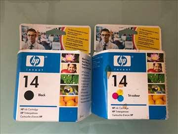 Komplet kertridzi HP 14 crni, crveni, plavi, zuti,