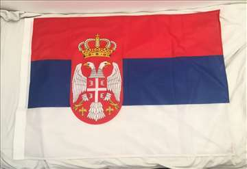 Zastava Srbije, 120x90cm