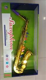 Saksofon muzička igračka za decu
