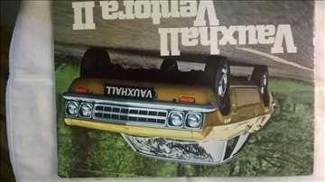 Prospekt:Vauxhall Ventora II,A4 format,14 str.nem.