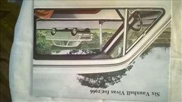 Prospekt:Vauxhall Vivas for 1966,A4 format,16 str.