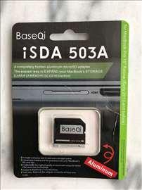 Baseqi iSDA 503A aluminium micrSD adapter