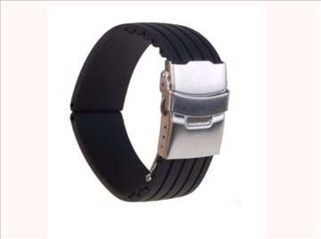 Silicone Watch Band 18 20 22 24 26 28mm