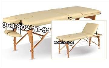 Drveni sto za masažu - trodelni