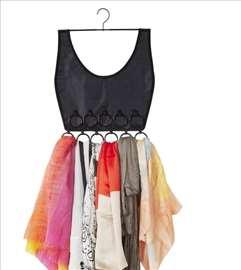 Boho haljina - Organizer marama i šalova - novo