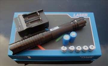 Najjaci blue laser 10.000mW - pali sve!