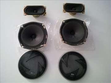 Zvucnici TEC 2x6W 2x15W Xwave maske