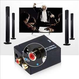 Konvertor digitalnog signala u analogni RCA za nov