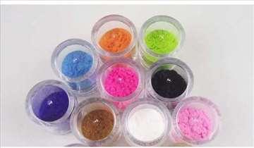 Kašmir - pliš za nokte 10 boja