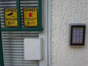 RFID bezkontaktno otključavanje vrata