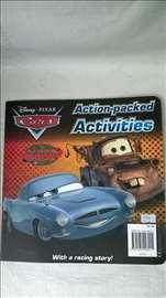 Knjiga: Dizni Pixar Cars, 2012. 65 str. eng.