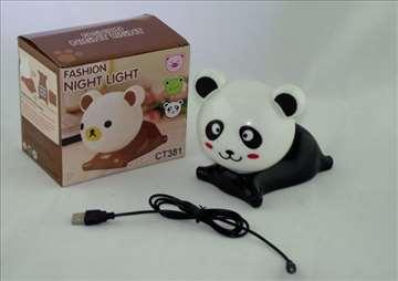 Lampa panda, za dečju sobu
