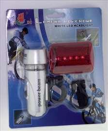 LED svetlo za bicikl prednje i zadnje