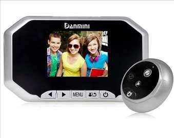 Digitalna špijunka sa kemerom+monitor + snimanje