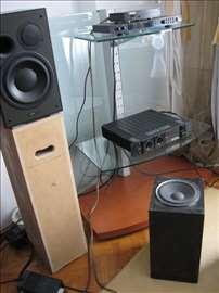 Subwoofer zvucnik 20cm medijapan 47x28,5x24,5cm