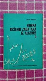 Zbirka rešenih zadataka iz algebre II - Bogoslavov