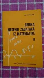 Zbirka rešenih zadataka iz matematike 3 - Bogos.