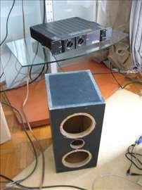 Zvucnik kutija od medijapana 51x28,5x24,5cm