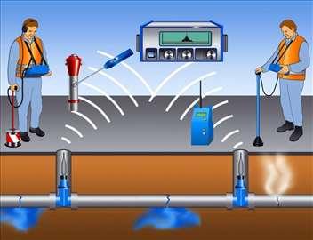 Detekcija i otkrivanje kvarova na vodovodu i kanal