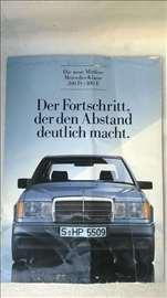 Prospekt: Mercedes 200D-300E,6 str. nekompletan, n