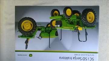 Prospekt:John Deere traktori 5C i 5D serije,4 str.